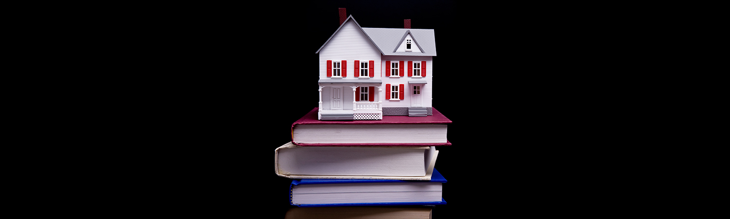 House on a Stack of Books