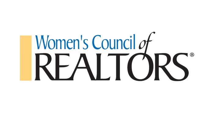 Logo for the Women's Council of REALTORS® on White Background